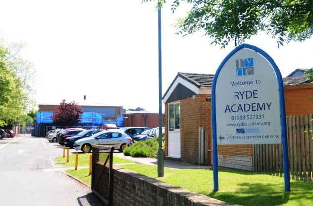 Dr Rory Fox, headteacher at Ryde Academy on the Isle of Wight, said the school's uniform policy was being enforced as a matter of fairness and said some girls felt peer pressured into wearing shorter skirts