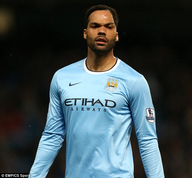 Undergoing: Joleon Lescott is having a medical at West Bromwich Albion ahead of a potential switch