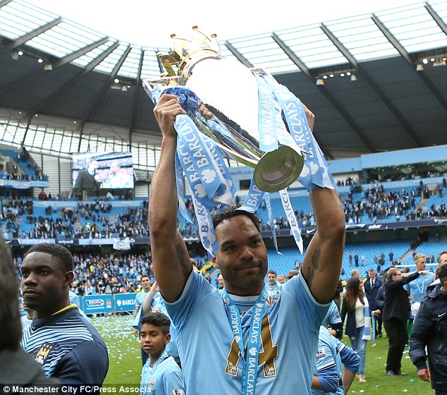 Victor: Lescott won two Premier League titles during his time at Manchester City