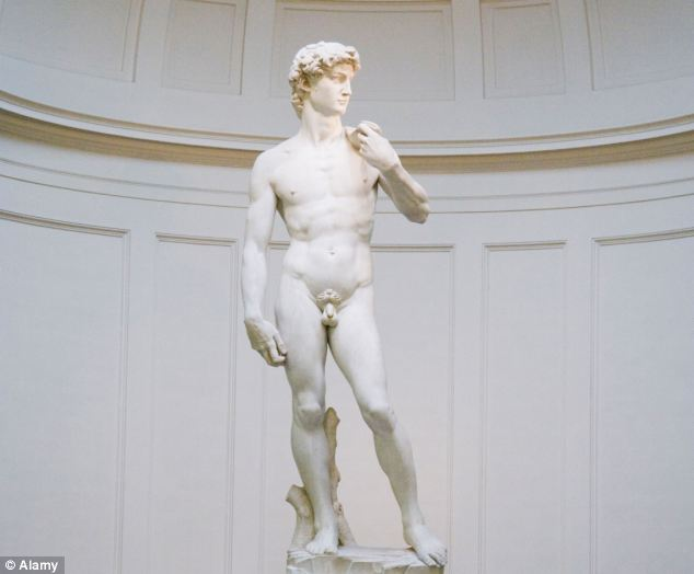 The marble was selected by Michaelangelo to give form to Christianity's most cherished characters, including his masterpiece, David
