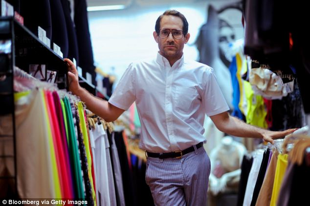 Out: American Apparel CEO Dov Charney has been ousted from the company he founded