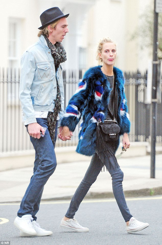 Quirky : The couple clearly love dressing to impress...even if that does get a little eccentric