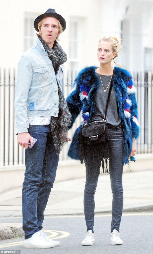 Newlweds! Poppy Delevingne and husband James Cook go shopping on Bond Street