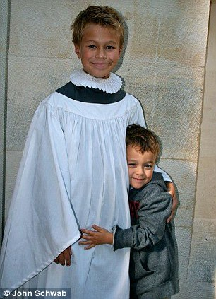 A lesson for all parents: Jack is now 12 years old and is a chorister at Southwark Cathedral in south London
