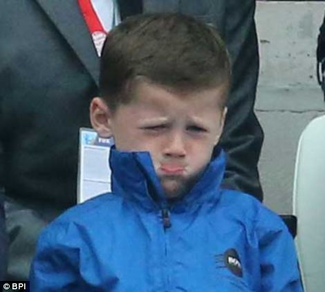 But the youngster, like millions of England fans around the world, was left sad after the 2-1 defeat