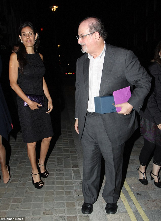 Content together: Missy looked lovely in a black shift dress and the latest Gucci platform heels
