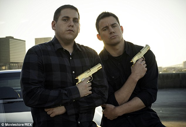 Success: It's been a busy time for the A-Lister following the release of his comedy sequel 22 Jump Street, which won the Father¿s Day weekend race, topping the box office with an estimated $60 million