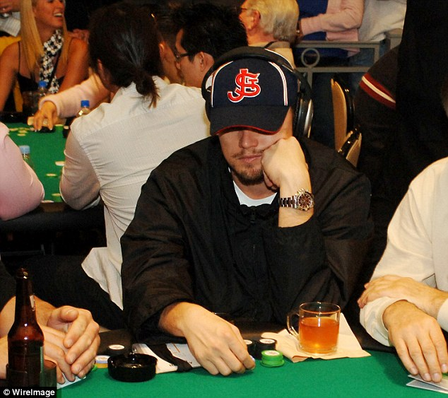 Titanic wins: Leonardo DiCaprio was a regular player in Bloom's circle, which had a buy-in of up to $100,000