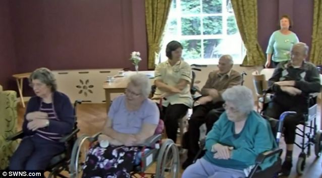 These staff and residents at a care home hope to prove they really are happy - by releasing a video of themselves dancing around to the Pharell Williams hit