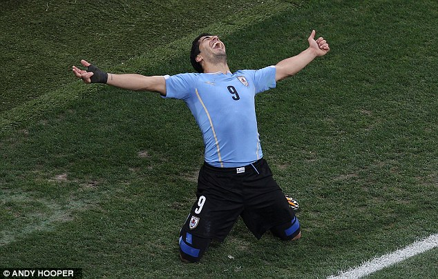 Payback time: Suarez felt no remorse about sinking his adopted home