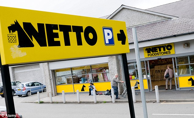 Joining forces: Sainsbury's and Netto will set up a joint venture