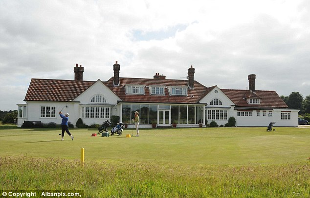 The tribunal, which centred around this golf club, heard Mrs Chadwick was unfairly dismissed after she raised concerns about an alleged inappropriate relationship between Mr Beckett and another member