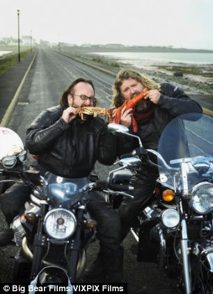 Mr King, along with Dave Myers, have been making programmes under the banner of the Hairy Bikers since 2004, bridging the gap between a cookery show and a travelogue