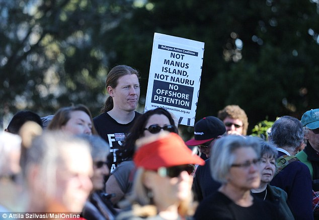 Rally organiser Ian Rintoul said the sentiment among protestors was largely the same - end offshore processing for good