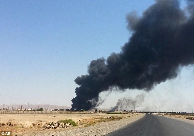 Under fire: Fighting around major refineries threatens oil supplies
