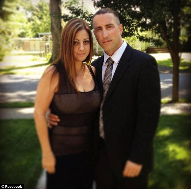 Split: Dina Casaliggi was married at the time of the affair to Christopher Michael, 35, but the couple are now said to be going through a divorce