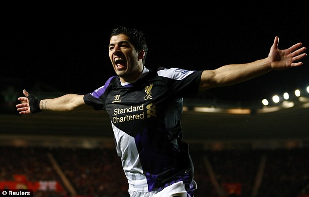 Talisman: Suarez's brilliance fired Liverpool to second in the Premier League last season