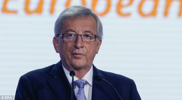The new, youthful Italian prime minister, Matteo Renzi, isn't yet convinced by Mr Juncker, pictured, either