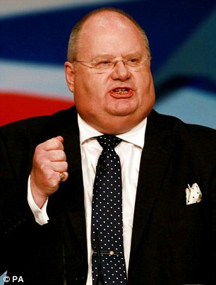 Communities Secretary Eric Pickles accused town halls of 'criminalising shoppers'