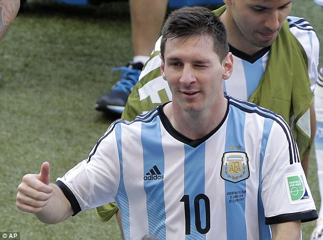 Confident: But Lionel Messi believes they are good enough to hit top form later in the tournament
