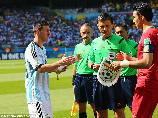 Leader: As captain of the Argentina side he has a certain responsibility to lead from the front