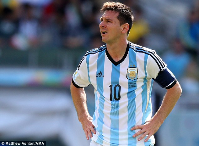 Struggle: Argentina have laboured to victory against Bosnia-Herzegovina and Iran