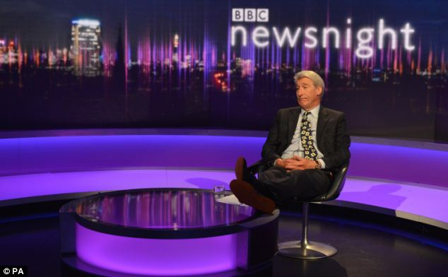 Jeremy Paxman on his final edition of Newsnight who said Ed Miliband doesn't have much appeal with voters