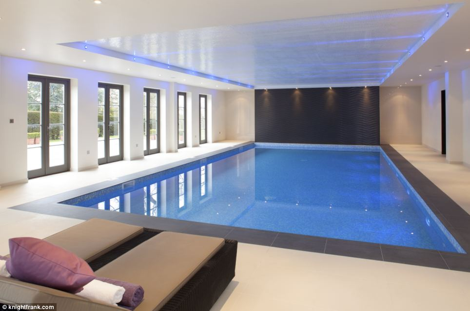 An energetic new owner will be able to work out in one of the two gyms or the private indoor pool installed by the current owner, City banker Martin Zapico
