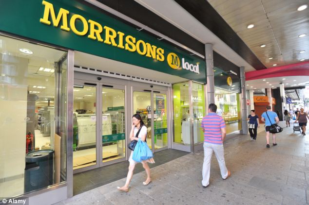 Fight back: Morrisons announced widespread price cuts in a bid to win the supermarket price war