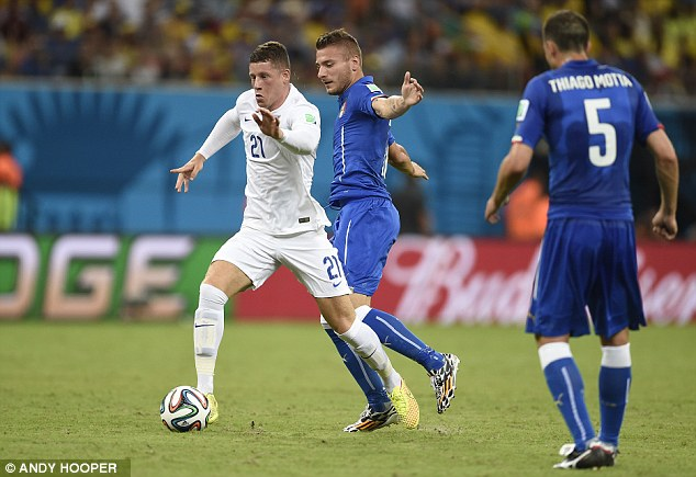 Next big thing: Ross Barkley will be handed a start for England's final World Cup game