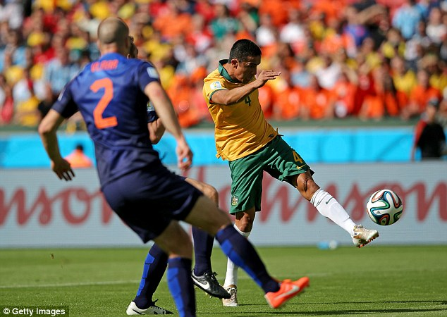 Highlight: Tim Cahill scored a wondergoal against Holland but teams from the Asian confederation are winless