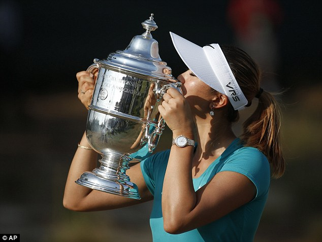 Longtime coming: Wie has been the face of women's golf since she was just 13 years old