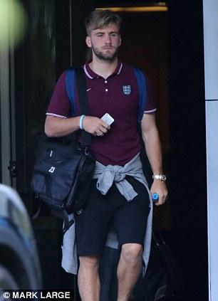 Manchester bound? Luke Shaw