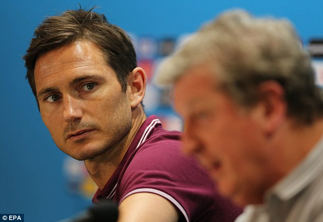 Final farewell? Frank Lampard will captain England to move level with Bobby Charlton on 106 caps