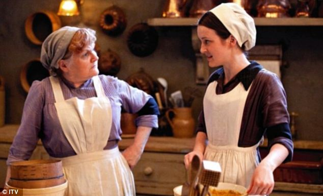 Lesley Nicol, who plays Mrs Patmore the cook, left, said it would be 'unwise' to do any more deaths as viewers don't like them