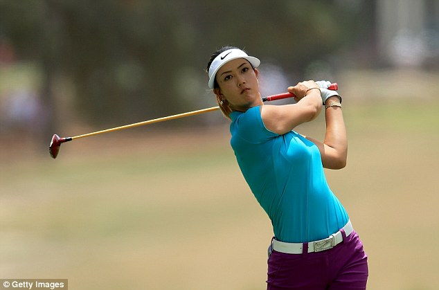 Back on track: Wie is finding her best form after being tipped for stardom as a youngster