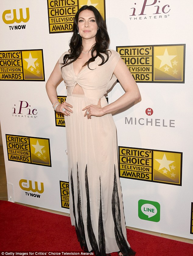 Proud of her pals! Laura Prepon called Mila Kunis and Ashton Kutcher's impending parenthood 'amazing' on June 19 at the Critic's Choice Awards in Beverly Hills