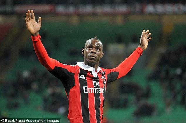 Why always him? Balotelli's current club AC Milan have no European football on offer next season