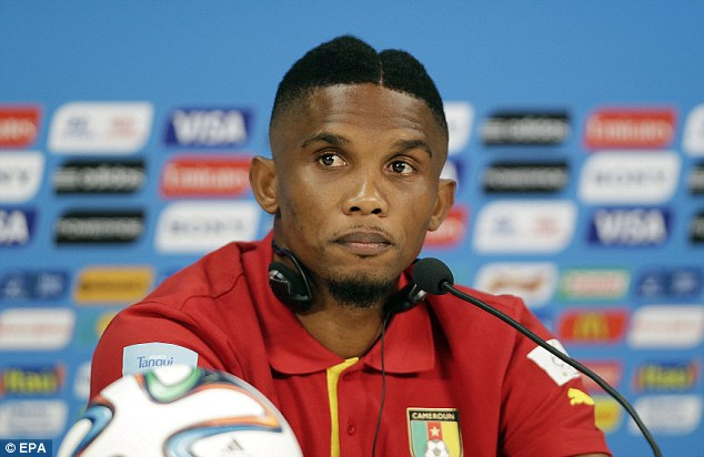 Rival: AC Milan are hoping to sign former Inter forward Samuel Eto'o