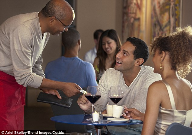 Splitting the bill: A third of adults think they pay for more than they ordered when out for a meal.