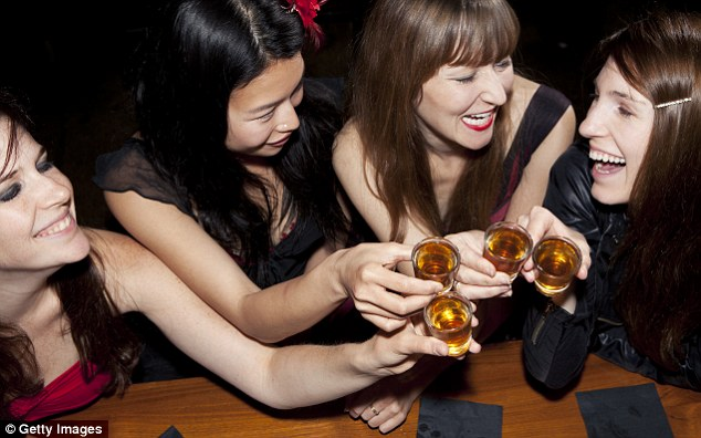 Social pressure: Many Britons feel like they have to spend more on nights out so as not to appear cheap.