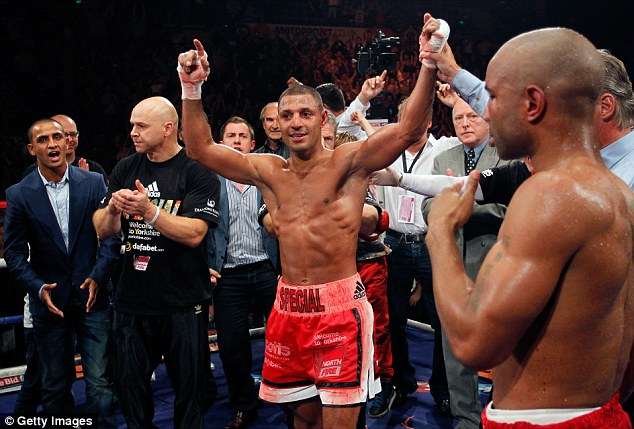 Up for it: Kell Brook has a signed a deal to fight Shawn Porter for the IBF welterweight title on August 9