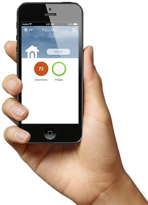 Mobile: Nest can be accessed remotely on smart devices