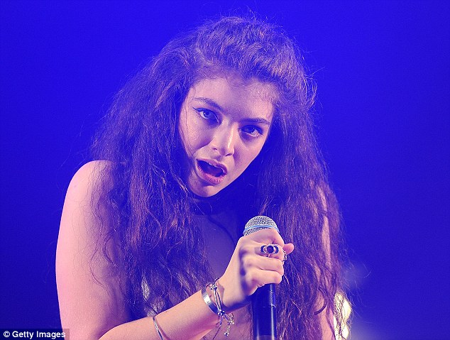Oh, Lorde! The New Zealand star won Outstanding International Achievement
