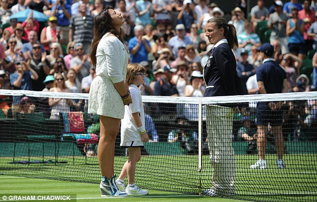 End game: Bartolli has retired from tennis and will not defend her Wimbledon crown