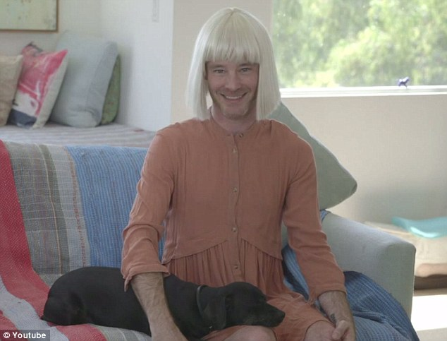 Sia later: The man perfectly timed his words so he appeared to be using Sia's voice