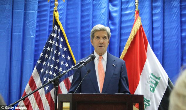 Iraq crisis: US secretary of state John Kerry visited Baghdad to discuss the worsening conflict between the government and Isis militants