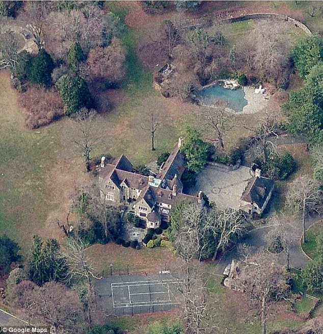 New England: The 70-year-old icon is also said to be hosting the August 31 ceremony at her sprawling estate in Greenwich with Motown greats Stevie Wonder and Smokey Robinson as guests