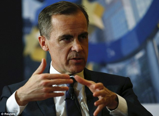 Mixed messages: Within the space of a few days Mark Carney has given out what seem like contradictory signals