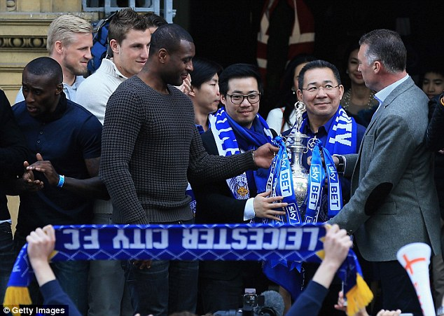 Right man: Foxes' vice-chairman Aiyawatt Srivaddhanaprabha speaks of Pearson in glowing terms